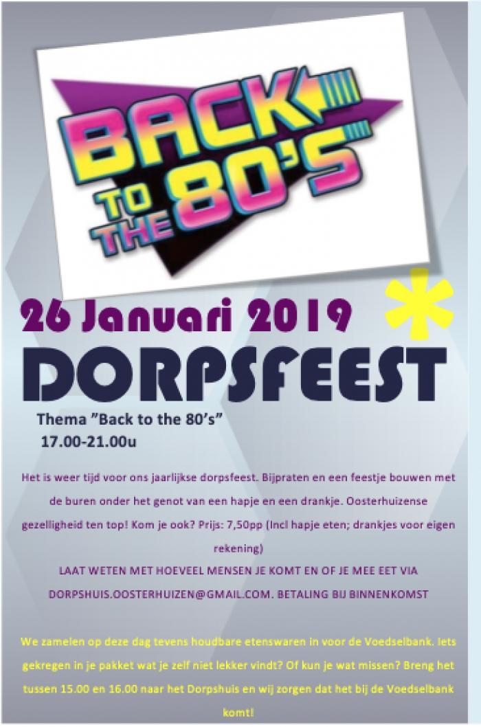 Dorpsfeest 2019