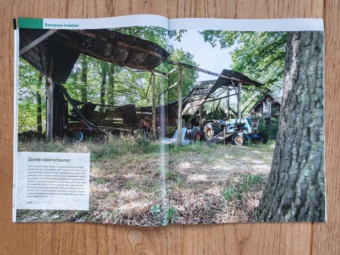Oosterhuizen in trekkermagazine