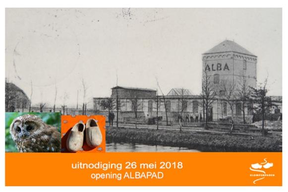 Uitnodiging opening Klompenpad 26 mei