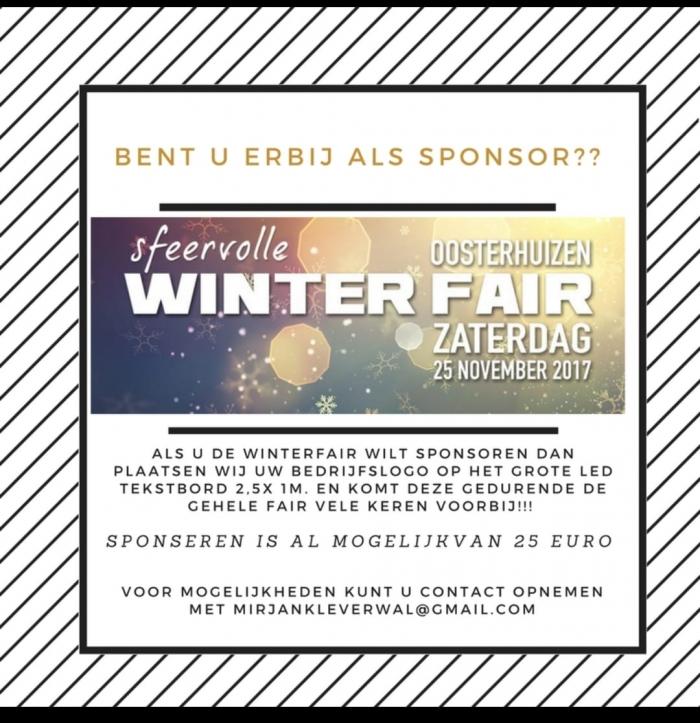Sponsoren gezocht Winterfair Oosterhuizen