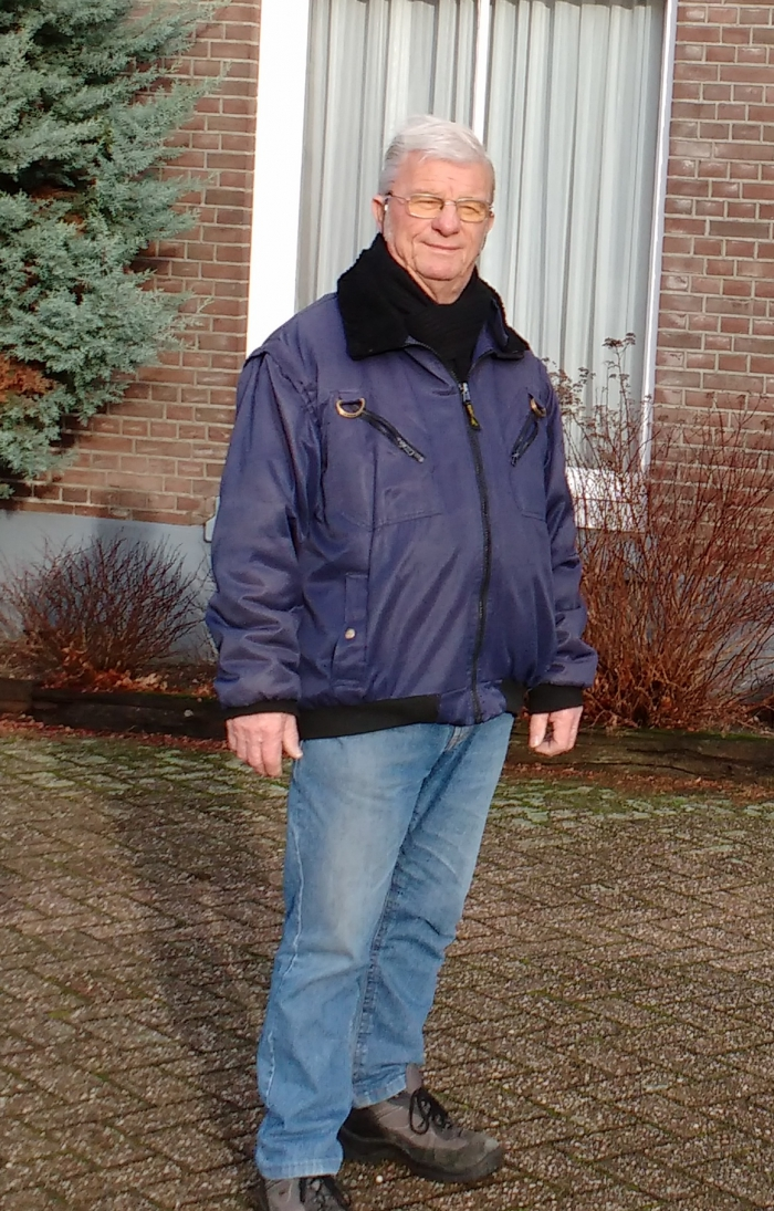 Hendrik Groeneveld in 't zonnetje